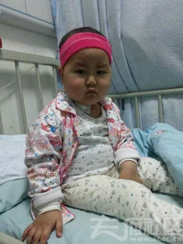 钟欣睿被病魔折磨后的照片