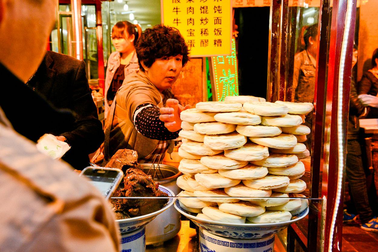 【西安游】清真美食回味无穷隐藏上海美食图片