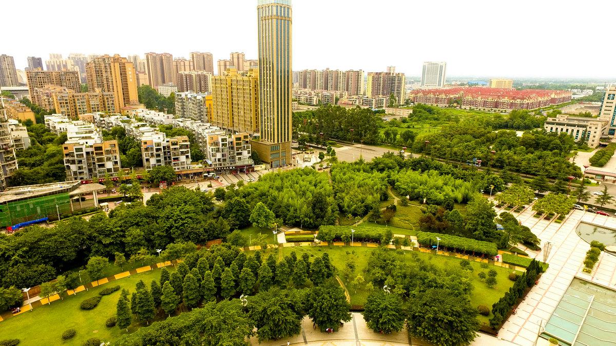 【眉山飞常美】【航拍】眉山苏轼公园