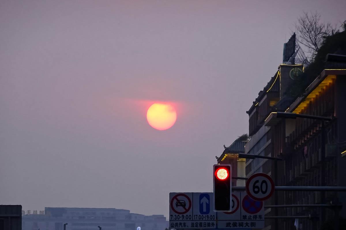 【过年啦】年关的太阳
