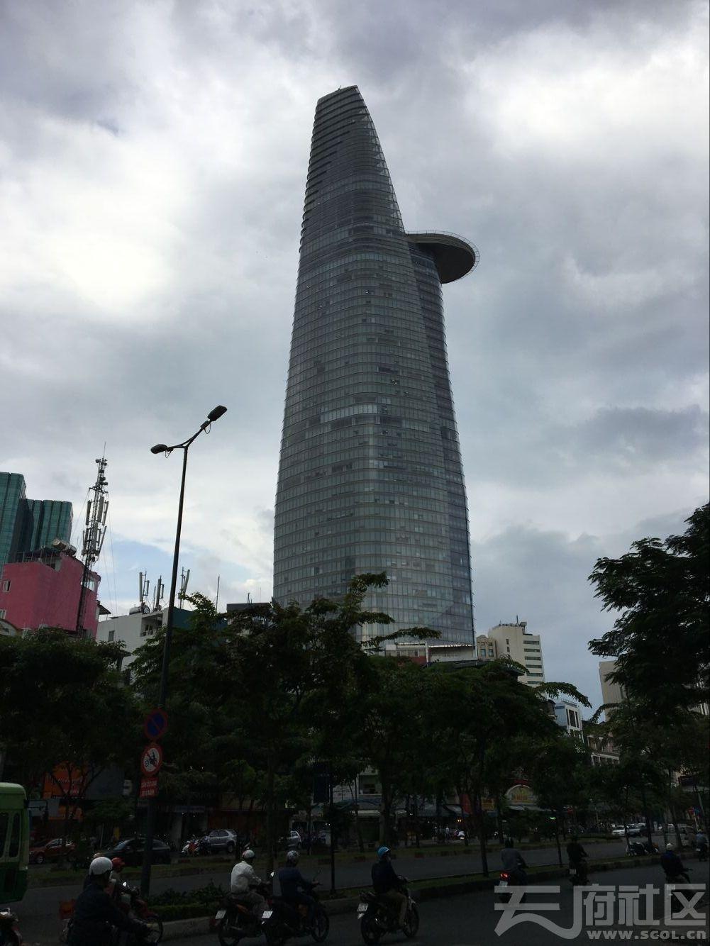 城市金融塔