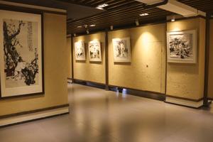 围炉夜话书画展厅