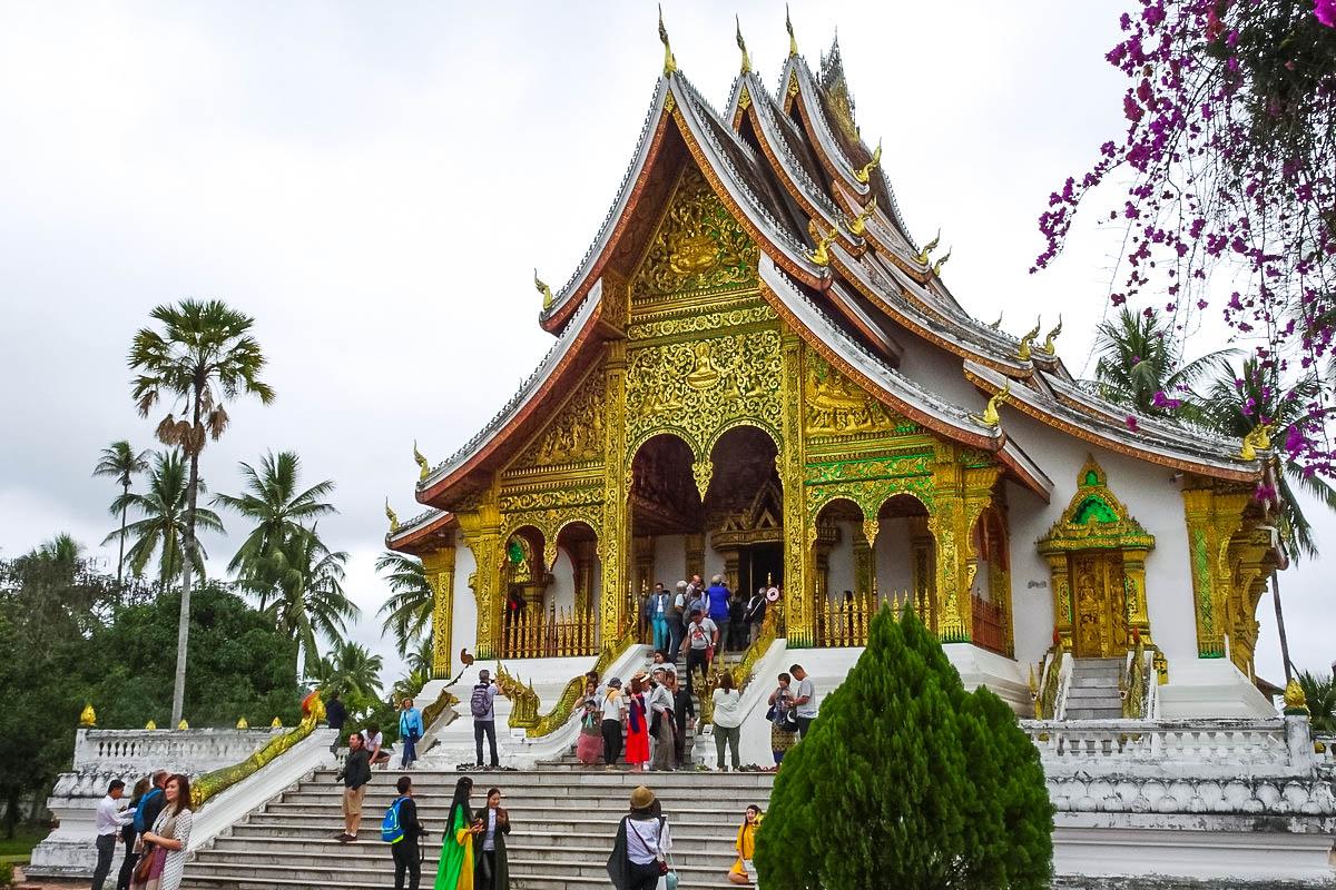 【老挝游】琅勃拉邦大皇宫