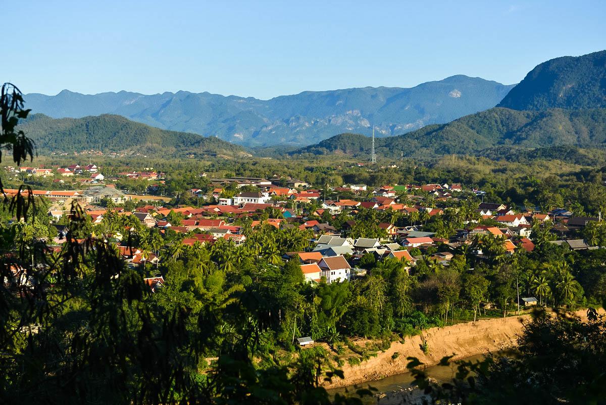 【老挝游】琅勃拉邦的全景