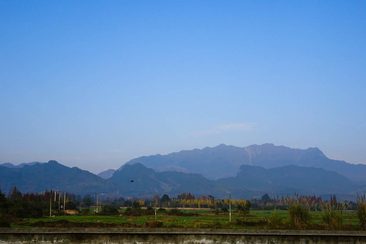 【成都乡村】山乡巨野的一天