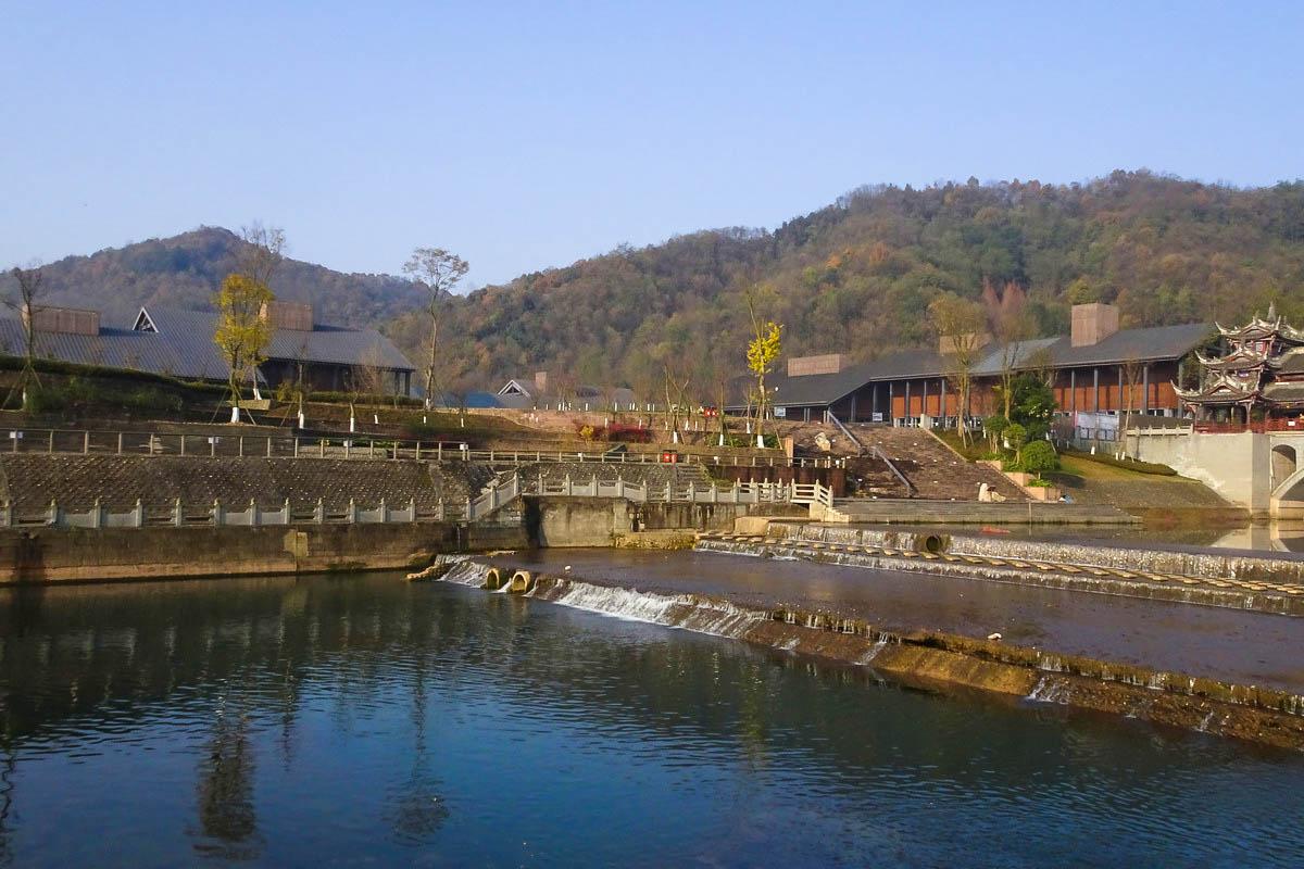 【冬景】初识味江河畔