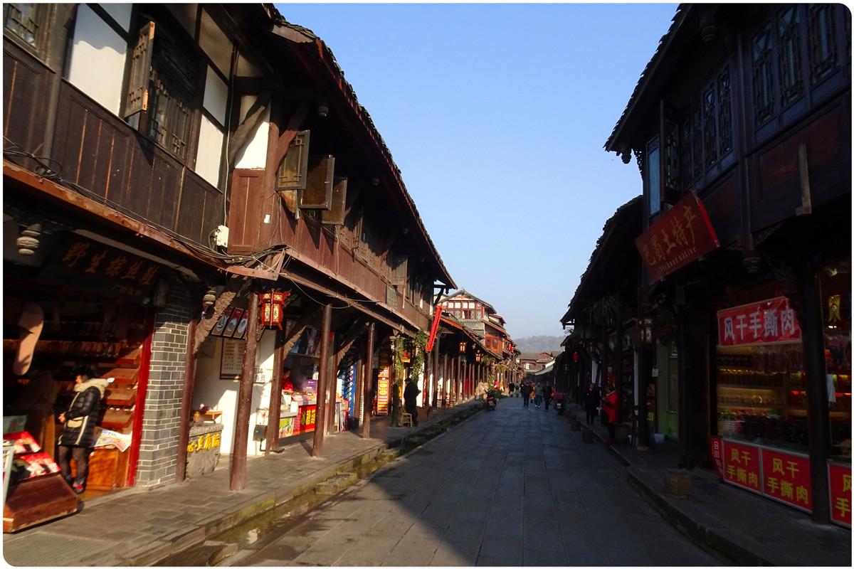 【新年新貌】冬日的街子古镇