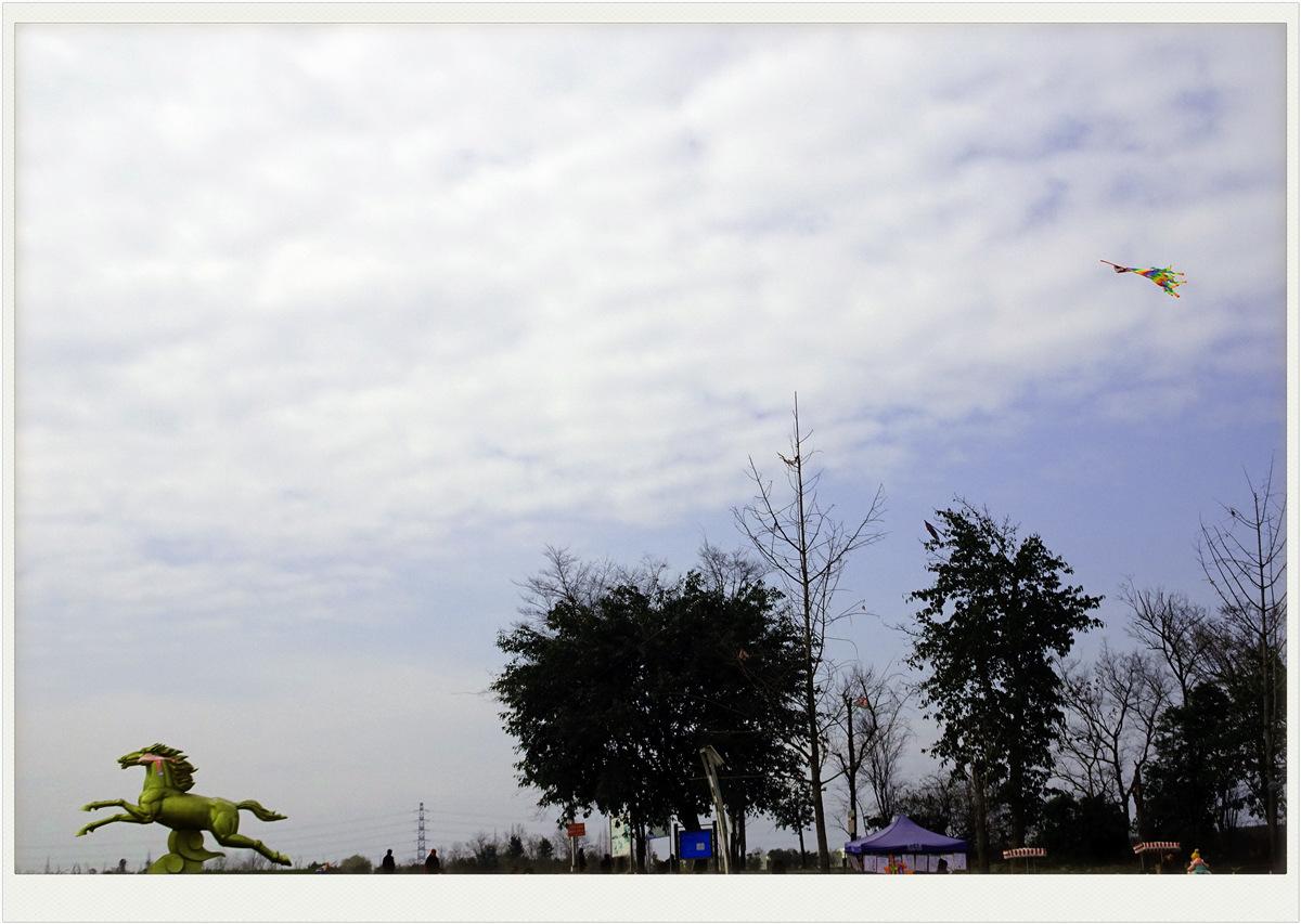 【春暖花开时】放风筝