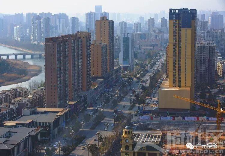 广元东城一角