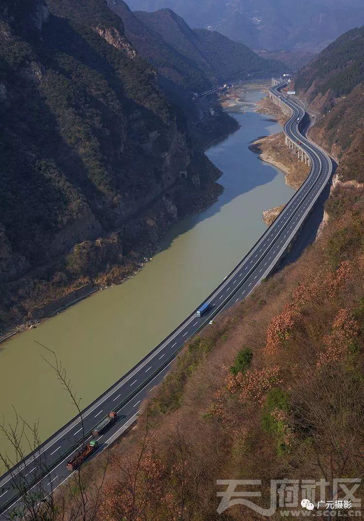 嘉陵江,京昆高速公路