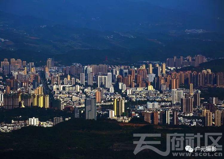 天曌山拍广元东城
