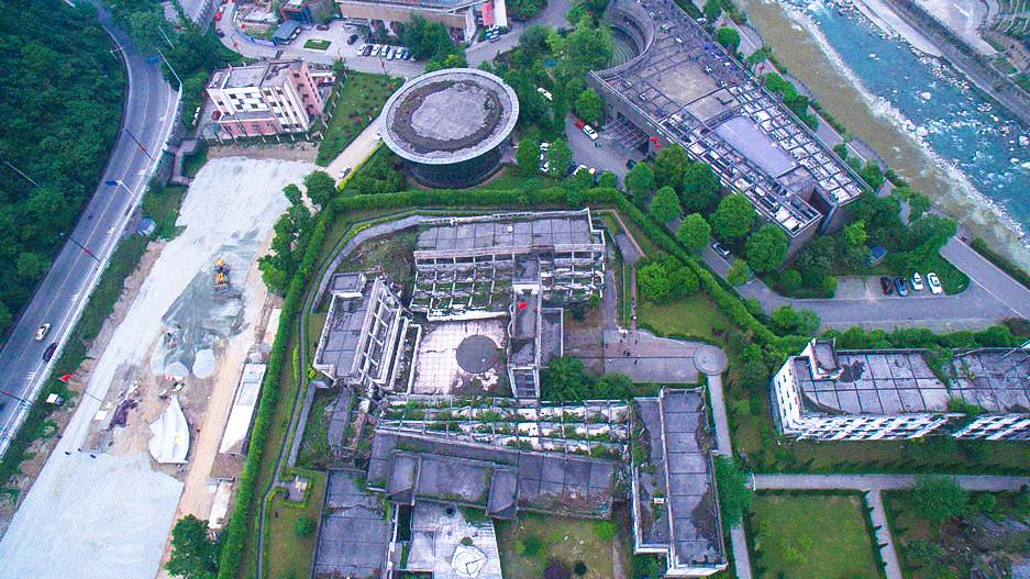 【512汶川大地震十周年祭】即将完工的宣誓广场