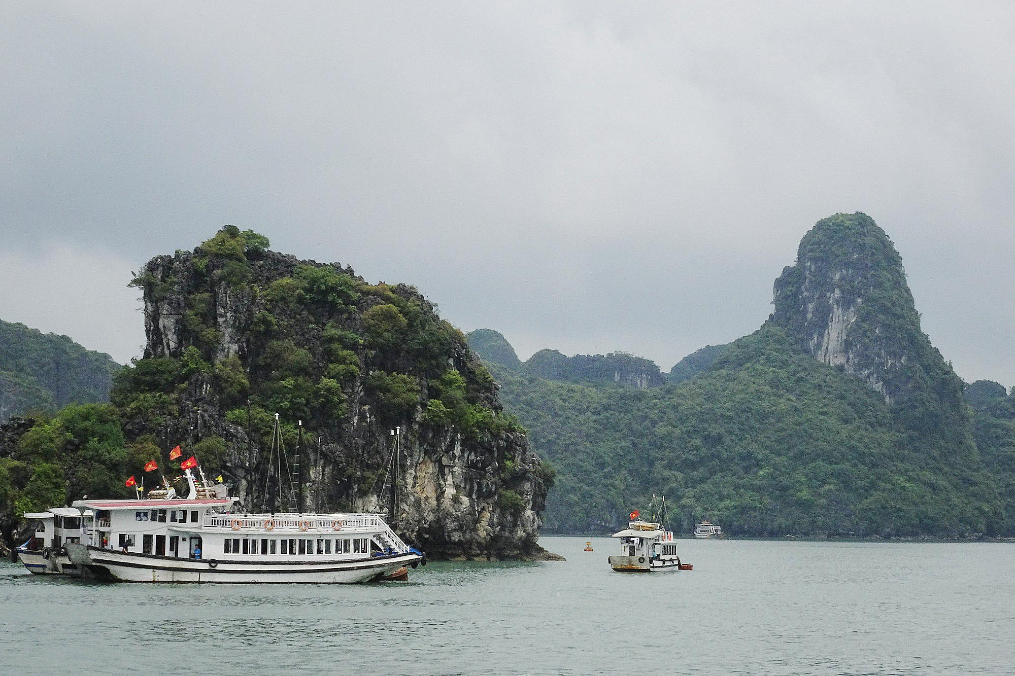 #南行记# 下龙湾的天堂岛