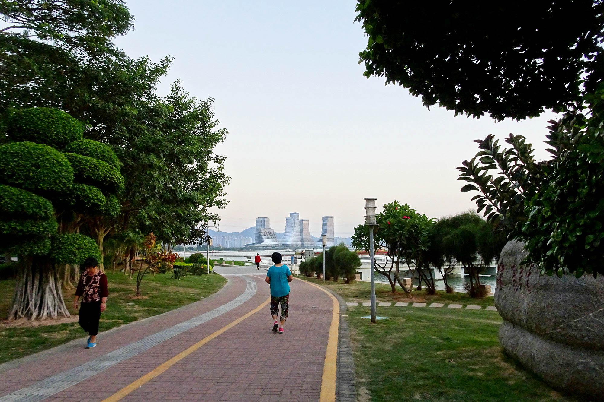 #南游记#厦门的曙光与夜色