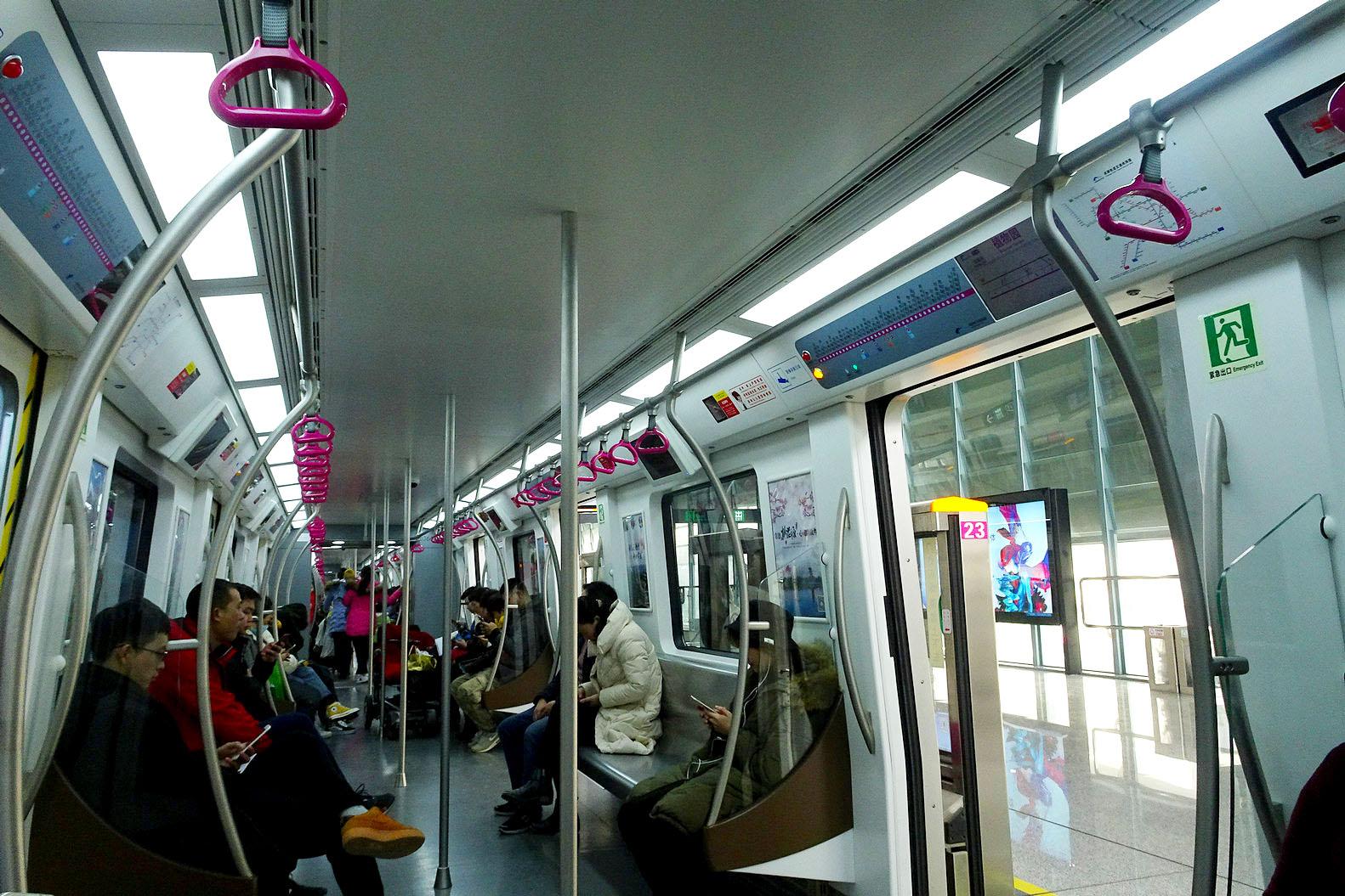 坐地铁走进成都植物园