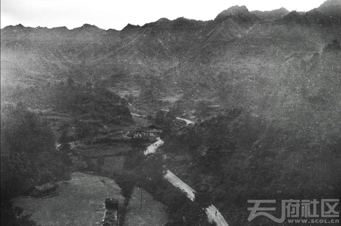 1 留坝 廟臺子 古驿道遗址 1943.JPG