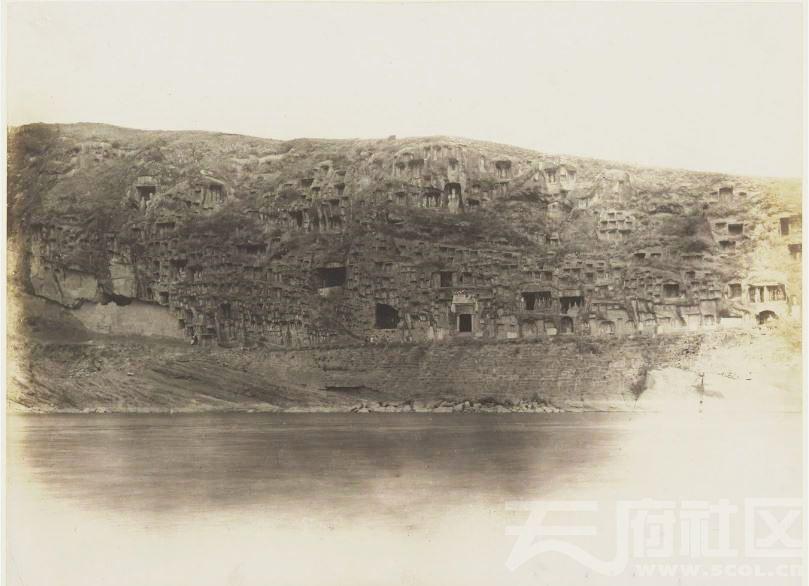 10 广元 千佛崖 1914.3.30.  Chine, 1914. Kouang-yuan [Guangyuan].JPG
