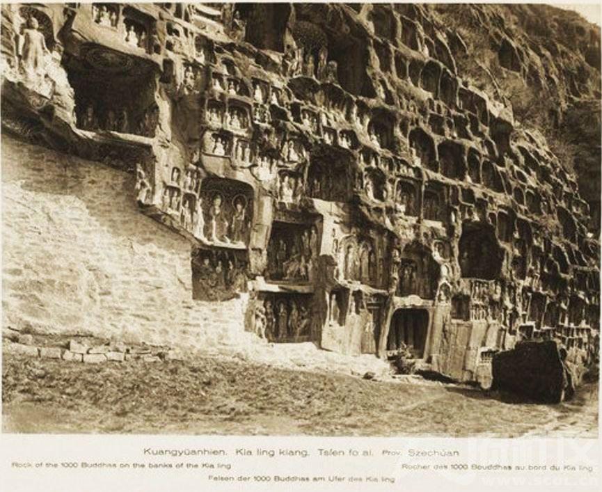 7  広元県(广元) 千佛崖 1909.JPG