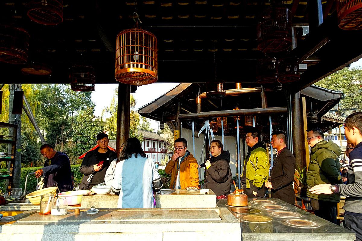 【新年印象】东门市井的茶铺