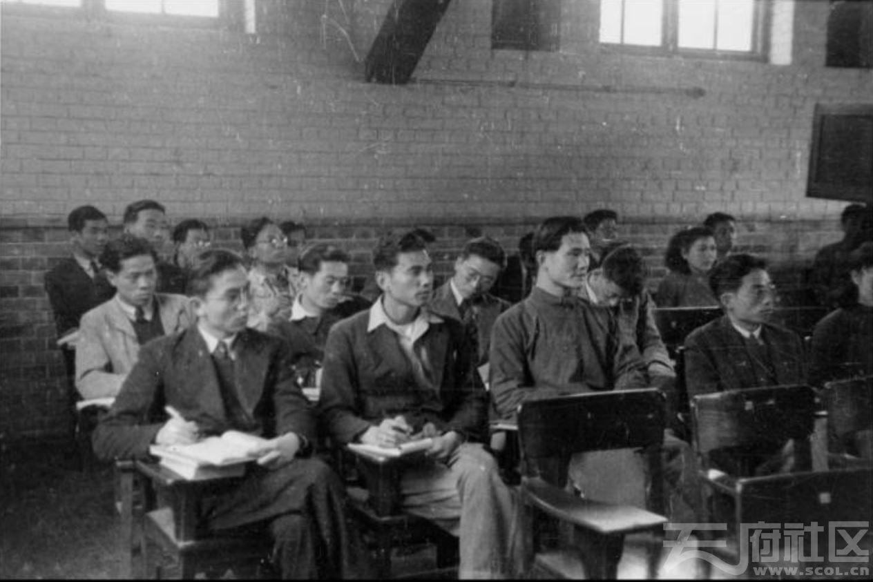 36 华西大学 诊疗讲座 ca.1944.JPG