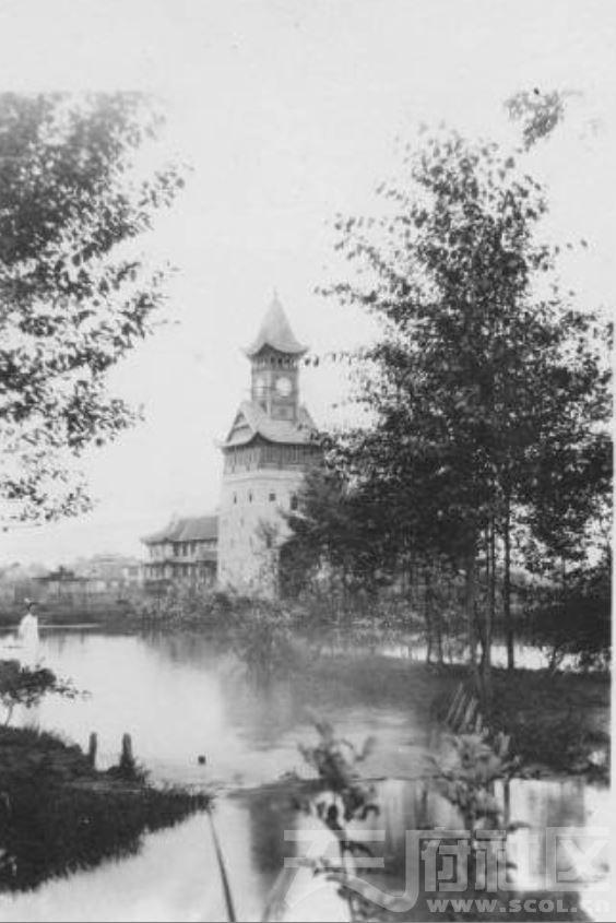 53 华西大学 钟楼 1927.JPG