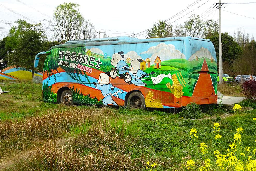 【阳春三月】开往春天的巴士