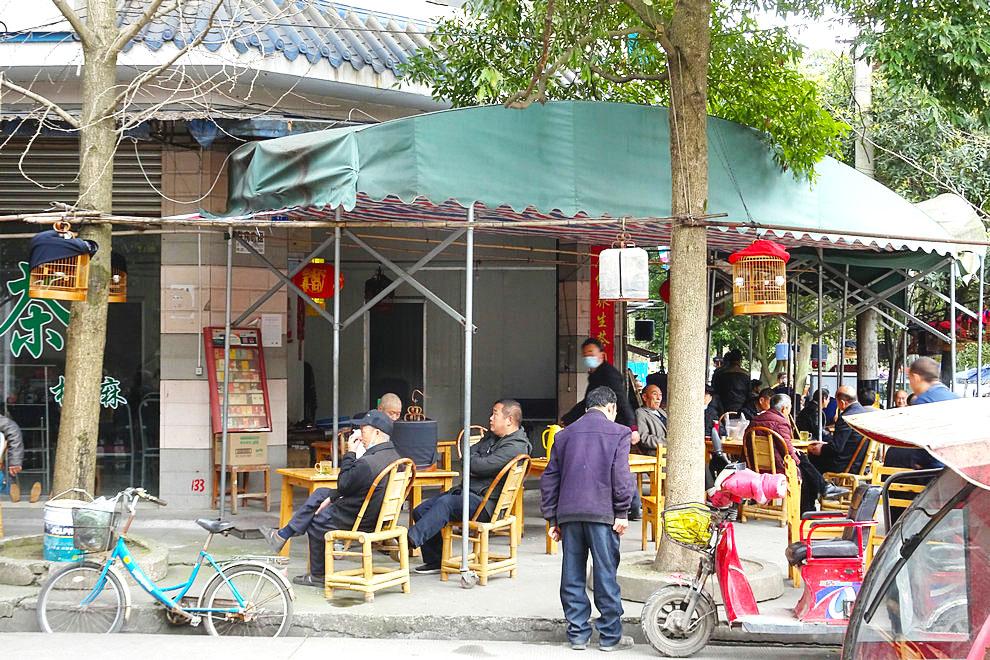 【阳春三月】乡村茶铺