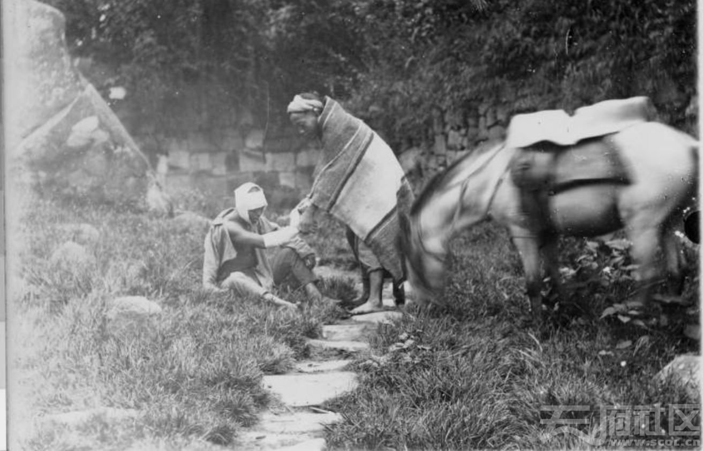"""60 乐山 《圣经》中""""好撒玛利亚人""""寓言(做好人好事)表演剧 1915-1925.JPG"""