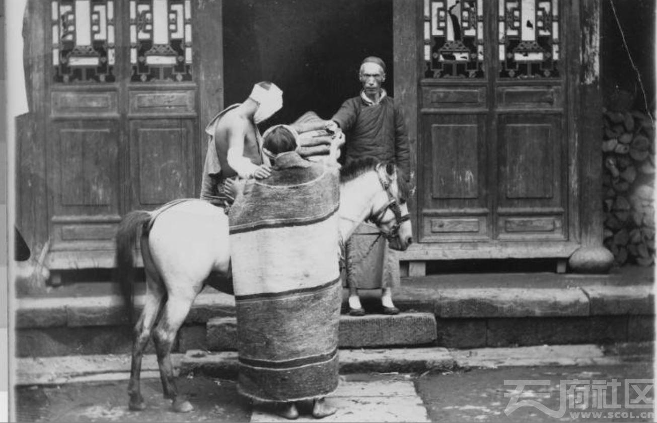 """61 乐山 《圣经》中""""好撒玛利亚人""""寓言(做好人好事)表演剧 1915-1925.JPG"""