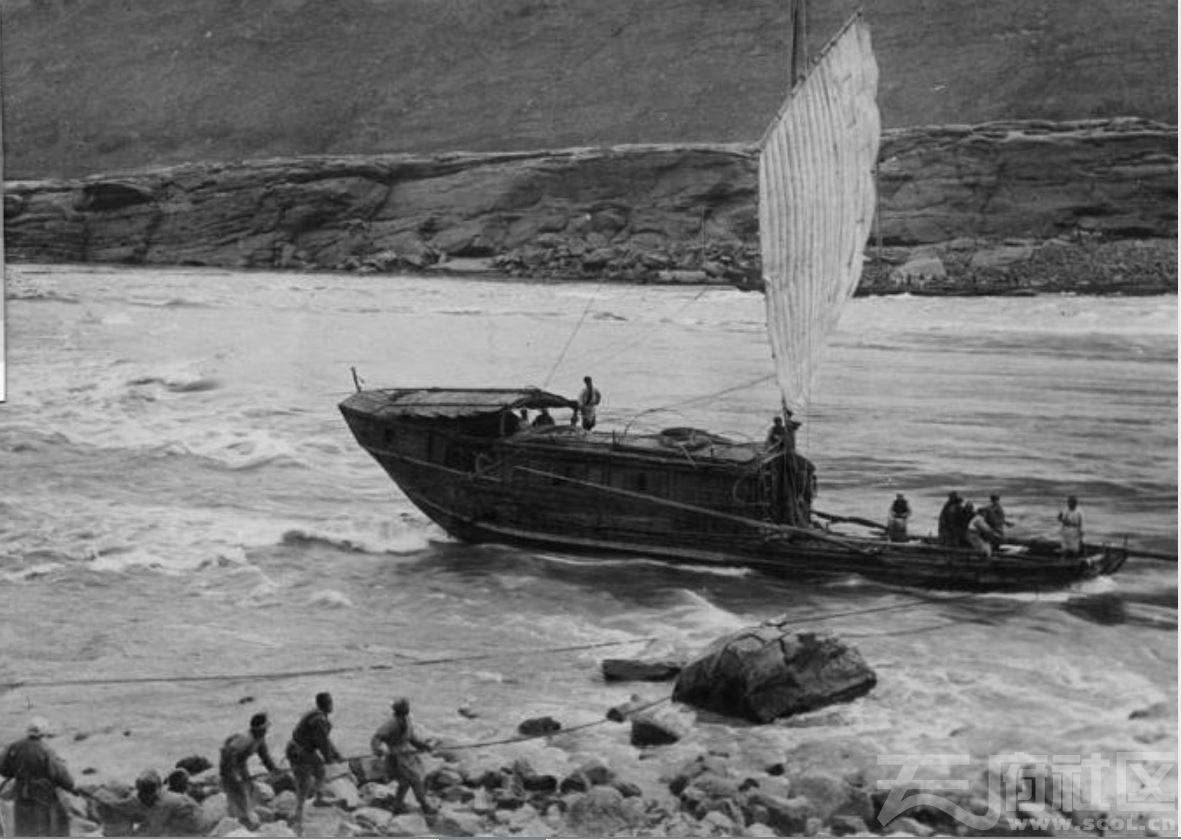 32 川江 帆船 1915-1925.JPG