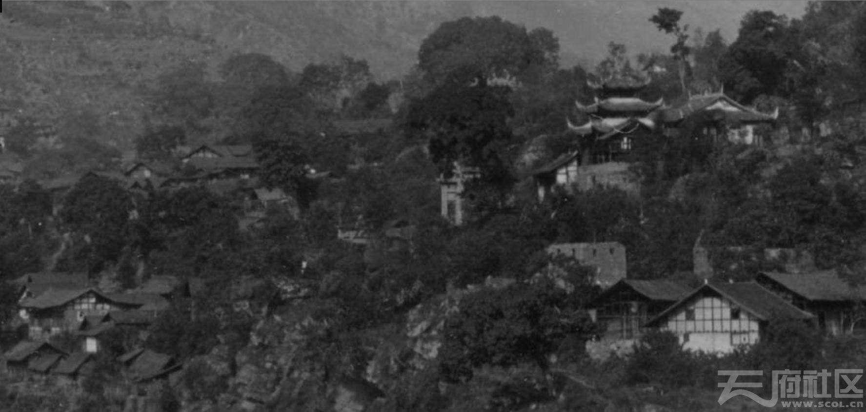 36 乐山 金口河(原名,现在的金河) 1915-1925.JPG