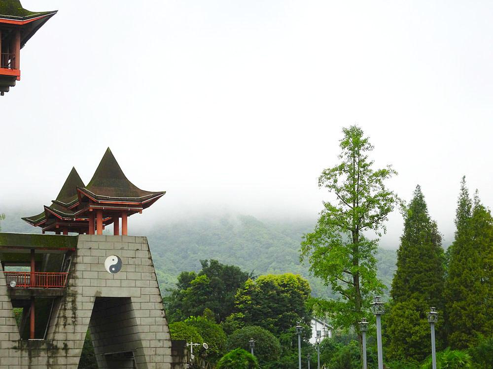 【八月行】雨后青城山