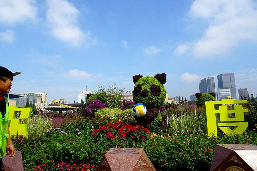 【祖国生日】天府广场的节日气氛