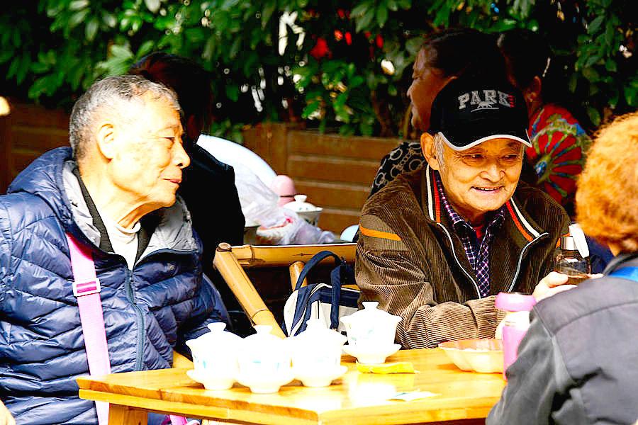 百年茶馆—鹤鸣茶社