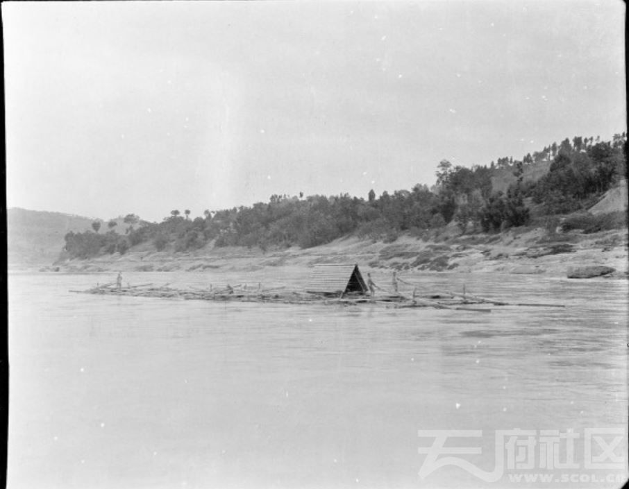 15 遂宁 木筏 1917.JPG