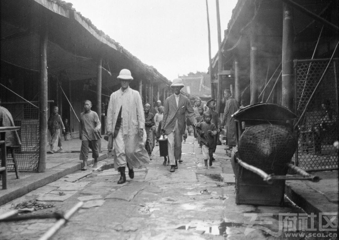 5 三台(潼川) 街上 1917.JPG