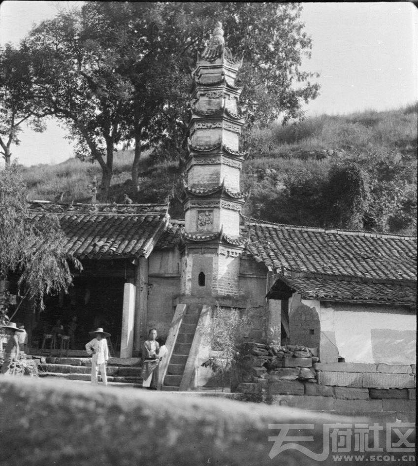 6 三台(潼川) 字库塔 1917.JPG