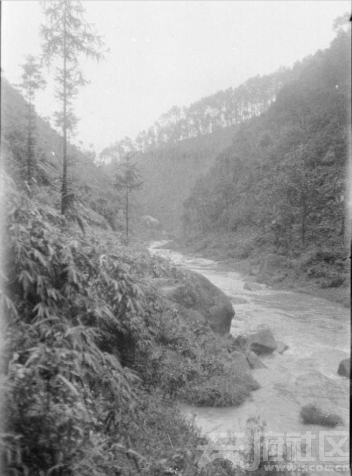 7 铜梁县 山间小溪 1917.JPG