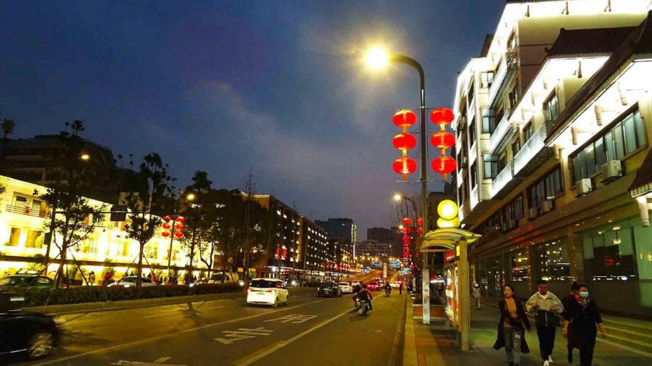 一环路南一段夜景