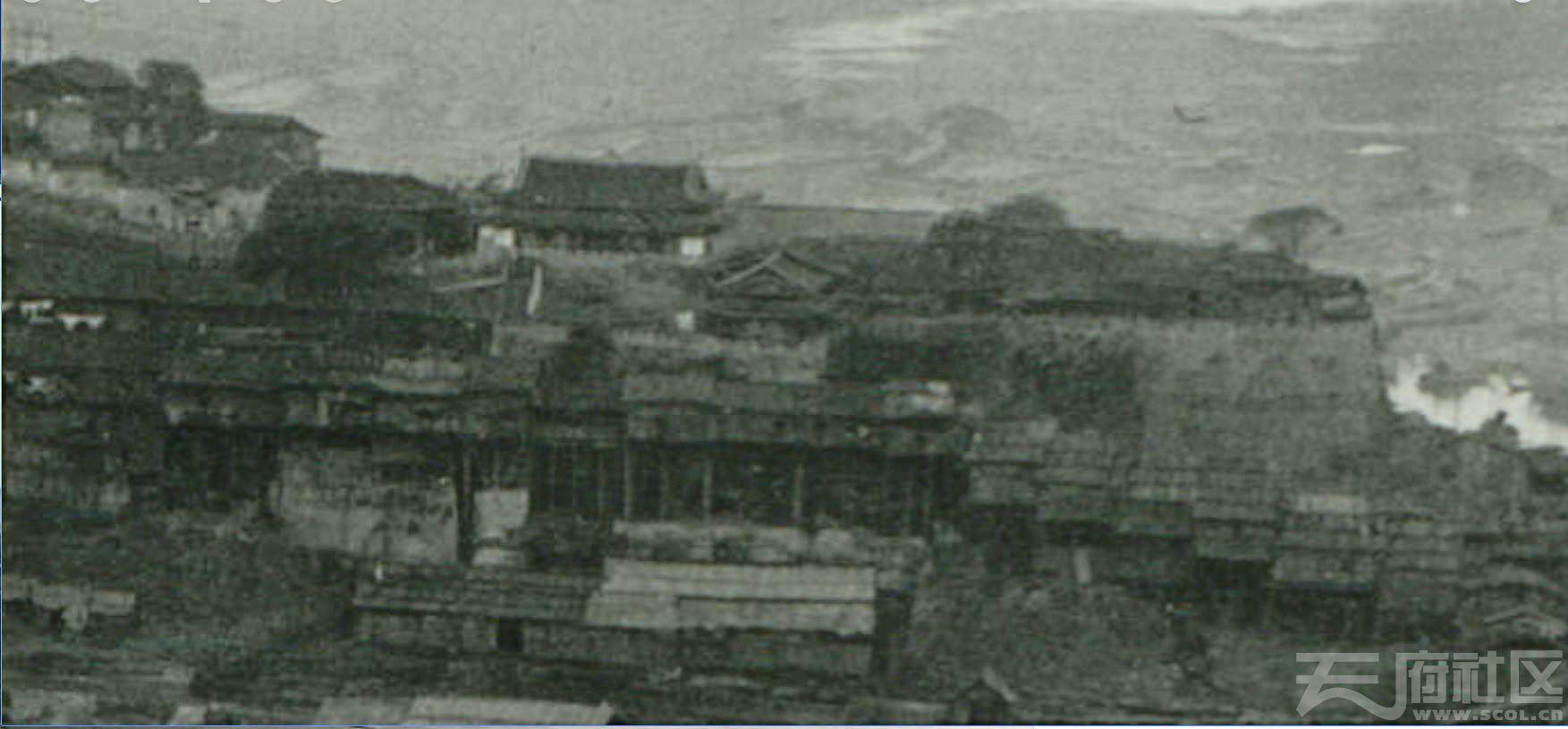 2 朝天门 双城门 城墙 1909.4. 张伯林摄.JPG