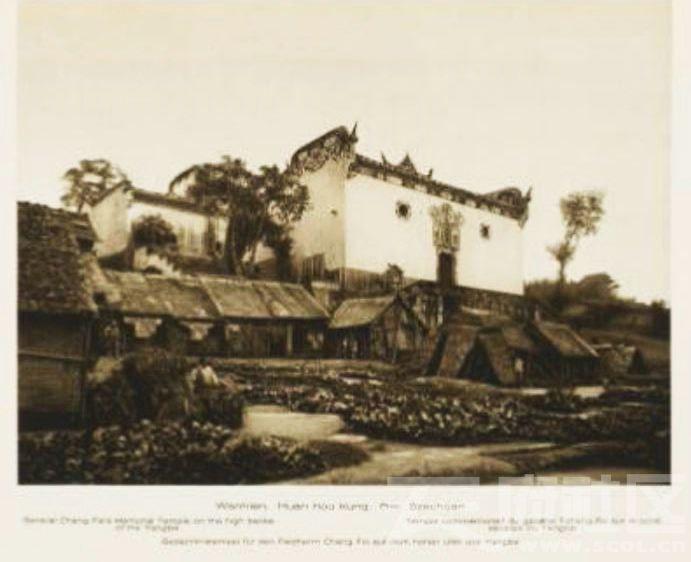 7 万县 大桥溪 张飞庙 1909.JPG