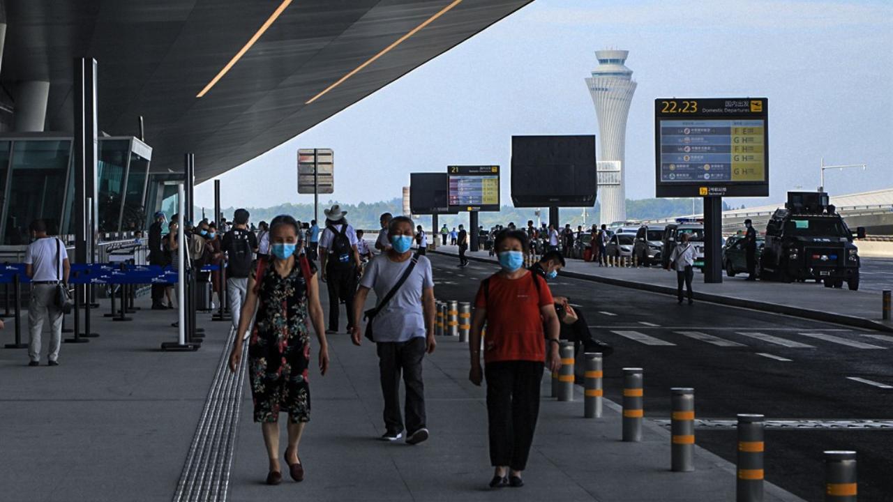 天府国际机场T2航站楼初体验