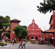 马来西亚游记之马六甲荷兰红屋
