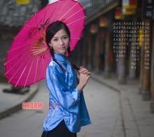 【亚洲小姐演绎民国风情】刘紫微