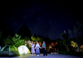 美丽广元 — 那些夜色星空!