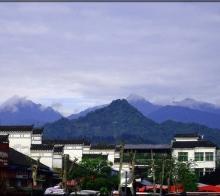 【随拍】雨后天晴的青城山脉