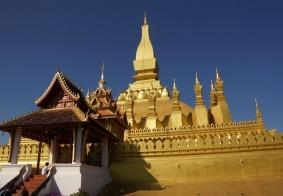 【大千世界】老挝万象的塔銮