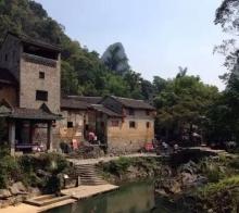 古色古香的古镇村落--黄姚
