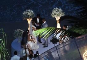 【大千世界】别致的海边婚礼