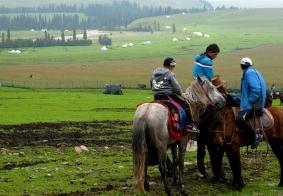 2016年7.8月自驾新疆第十和十一天-空中草原-那拉提